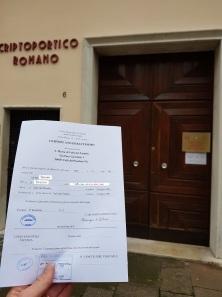 Buscas de certidões de batismo pela NordItalia - família Aver