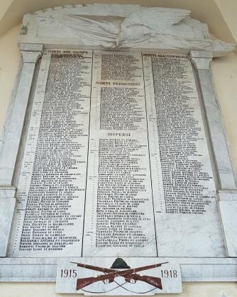 Homenagem aos mortos da 1ª Guerra Mundial