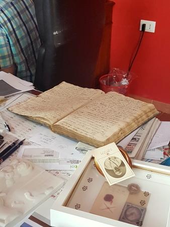 Livro de registros de batismo de 1843