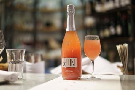 eataly-flatiron-bellini-canella-bottle-glass