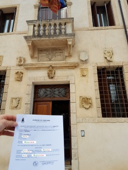 Busca de certidão de nascimento pela NordItalia - família Giacomello