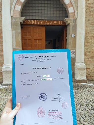 Vescovana - Cavaliere