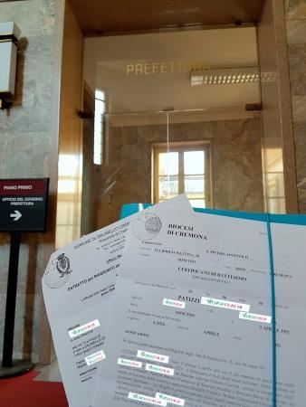 Documentos apostilados em Cremona