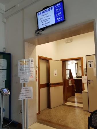Departamento de registros civis da prefeitura de Legnago