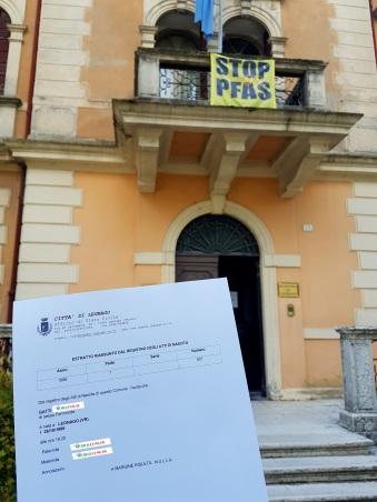 Busca de certidão de nascimento pela NordItalia - família Gatti