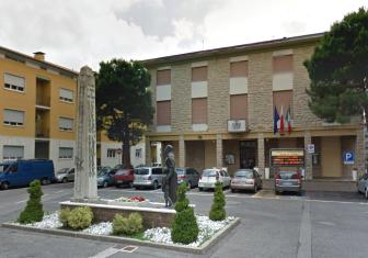 Praça IV de Novembro - prefeitura de Azzano San Paolo