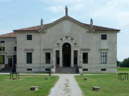 Villa Pojana - vista anterior