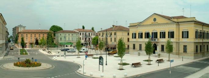 panorama piazza pegognaga