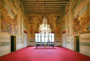 Afrescos do interior da Villa (foto: reprodução)