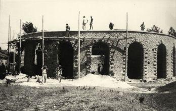 Arena de Montemerlo em construção (foto: reprodução)
