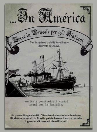 Cartaz Imigração