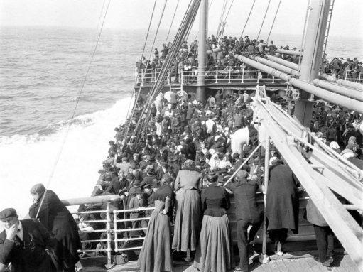 Navio imigração