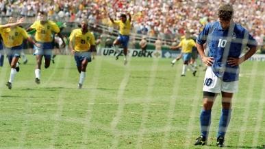 O famoso pênalti perdido na final da Copa de 1994